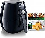 Philips Viva Airfryer (1.8lb/2.75qt) with Cookbook $109