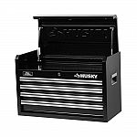"26"" Husky 4-Drawer Tool Chest (Black) $29 (org $59) YMMV"