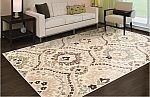 Superior Designer Augusta Collection Area Rug (5x8) $39.99 and more