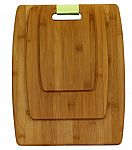 Oceanstar 3-Piece Bamboo Cutting Board Set $8.21