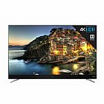"TCL 55C803 55"" 4K HDR Smart Roku LED TV $379"