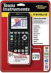 Texas Instruments TI-84 Plus CE graphing calculator $90 (Save $70 - Staples in store only)