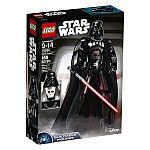 LEGO Star Wars Darth Vader 75534 Building Kit (168 Piece) $21.53 (46% Off)