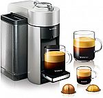 DeLonghi Nespresso Vertuo Evoluo Coffee and Espresso Machine $99 (50% off)