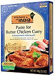 Kitchens of India Paste, Butter Chicken Curry, 3.5-Oz (Pack of 6) $9.60