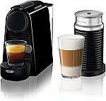 Nespresso Essenza Mini Espresso Machine Bundle $99