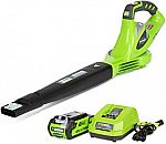 Greenworks 40V 150 MPH Variable Speed Cordless Blower with 2.0 AH Battery $63 (51% Off) & More Tools