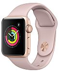 Apple Watch Series 3 (GPS), 38mm Gold Aluminum Case $229 (org $329) & More