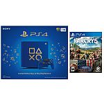 Sony Limited Edition Days of Play PlayStation 4 Slim 1TB Console + FarCry 5 $306