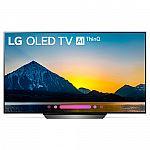 """LG OLED65B8PUA 65"""" Class B8 OLED 4K HDR AI Smart TV (2018 Model) $2099"""