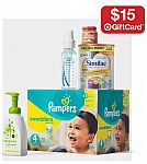 $15 gift card with a $75 baby care purchase (Formula, Diaper, wipes and more)