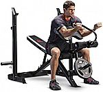 Marcy Adjustable Olympic Weight Bench Leg Developer Squat Rack MD-879 $109