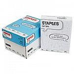 "Staples 8.5"" x 11"" Copy Paper, 4-ream case $3.79 (with Auto-restock)"
