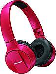 Pioneer Bluetooth Lightweight On Ear Wireless Stereo Headphones $25 (64% Off)