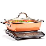 """Copper Chef Induction Cooktop with 11"""" Casserole Pan $49.98 (Samsclub Plus members only)"""