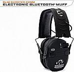 Walker's Razor Quad Electronic Bluetooth Muff-Black $60 (50% off)