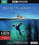 Blue Planet II 4K UltraHD $29.97