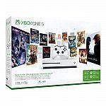 Microsoft Xbox one S 1TB Console starter bundle $237