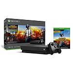 Xbox One X 1TB PlayerUnknown's Battlegrounds Video Game Console Bundle $399