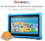 16GB Fire 7 Kids Edition Tablet $70, Fire HD 10 Tablet Kids Edition $150