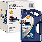 3-Pack of 1-Gallon Shell Rotella T6 Full Synthetic Heavy Duty Engine Oil (5W-40) $25.69 (After Rebate)