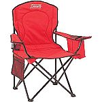 Coleman Oversized Quad Chair with Cooler Pouch $14