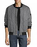 Burberry Knit Quilted Bomber Jacket $277 (was $795)