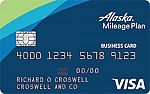 Alaska Airlines Visa<sup>®</sup> Business credit card -  Limited Time Offer: Companion Fare + 30,000 Bonus Miles with $1000 Spent within the first 90 days