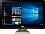"""ASUS Zen 4K 23.8"""" All-in-One Desktop (i7-7700T 12GB 1TB+128GB SSHD GTX 1050) $870"""