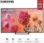 "Samsung QN65Q9FNA 65"" Q9FN Smart 4K Ultra HD QLED TV (2018) (QN65Q9FNAFXZA) with 1 Year Extended Warranty $2548"