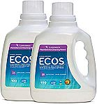 2-Pack of 100-oz Earth Friendly Products Ecos 2x Liquid Laundry Detergent (Lavender) $9.79