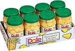 8-Pack of 23.5oz Dole Pineapple Chunks in 100% Juice $11.88 or Less