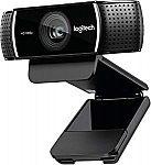 Logitech C922x Pro Stream Webcam $50 (Org $100)