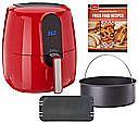 Power Air Fryer Elite 5.5-qt 6-in-1 Digital Air Fryer w/ Pan $80 or less (org $110)
