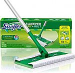 Swiffer Sweeper Dry and Wet Floor Mopping and Cleaning Starter Kit $7.02