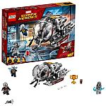 LEGO Marvel Ant-Man Quantum Realm Explorers 76109 Building Set (200 Piece) $12.75