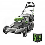 EGO 20 in. 56 Volt Lithium ion Mower w/ 5.0 Ah Battery $349 and more