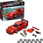 LEGO Speed Champions Ferrari F40 Competizione 75890 Building Kit (198 Piece) $11.99