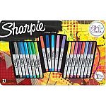 21-Ct Sharpie Fine Point Permanent Markers $6.95 and more