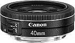 Canon EF 40mm f/2.8 STM Lens $129
