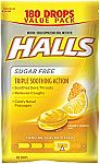 180-ct Halls Sugar-Free Cough Drops $5.58