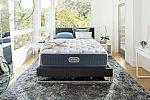 Simmons Beautyrest Silver Kenosha Place III Extra Firm Queen Mattress  $549 + 2 Free Pillows and Mattress Protector