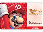 $60 Nintendo eShop Gift Card ($50 + $10) for $50
