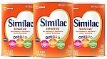 3-Pack Similac Sensitive Infant Formula with Iron $51