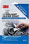 3M 1 Pack Quick Headlight Clear Coat, 39173 $5.05