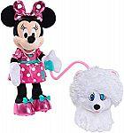 Minnie Walk & Play Puppy Feature Plush $11.64 (Org $40)