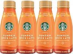 8-ct Starbucks Starbucks Iced Latte Pumpkin Spice, 14 Ounce $9.50