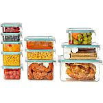 Wellslock Classic 1-Lock 22-Piece Food Storage Container Deluxe Pack (Assorted Colors) $14.98 Shipped