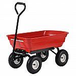 Muscle Rack 4 cu. ft. 20 in. W Plastic Garden Dump Cart $34.99