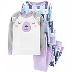 Carter's 2-Piece Pajama Sets (baby or toddler) 6 for $21.56 + Free Shipping (Kohls Card Req'd)